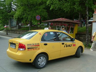 Hire a local Taxi