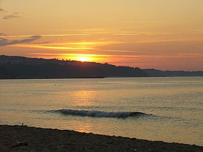 Sunrise from the Beach in Varna